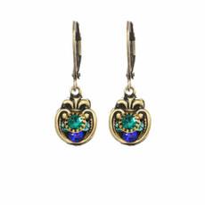 Michal Golan Earrings Peacock Style