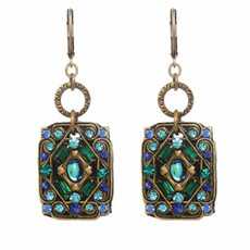 Michal Golan Jewelry Peacock Earrings