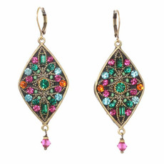 Michal Golan Earrings Prismatic Style