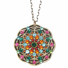 Michal Golan Designer Prismatic Necklace