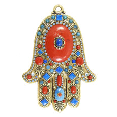 Evil Eye Wall Hamsa From Golan Jewelry