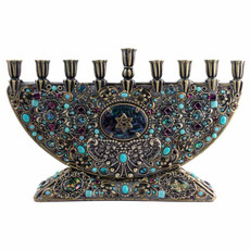 Michal Golan Judaica Menorah