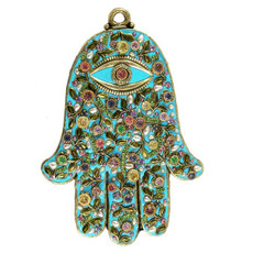 Evil Eye Hamsa By Golan Michal