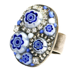 Michal Golan Jewelry Hydrangea Adjustable Ring