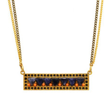 Blue Ber necklace by Michal Golan Jewelry