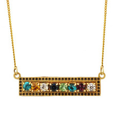 Golan Multi-color Necklace Ber