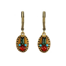 Michal Golan Small Oval Earrings