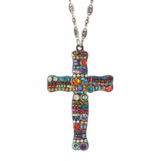 Michal Golan Chain Cross Necklace