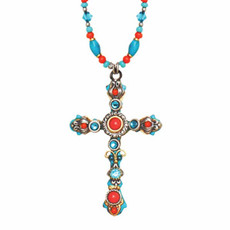 Cross necklace from Michal Golan Jewelry