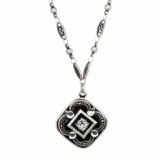 Michal Golan Diamond Pendnat Necklace