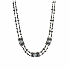 Michal Golan Double Beaded Necklace