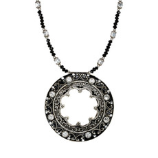 Michal Golan Open Circle Galaxy Necklace
