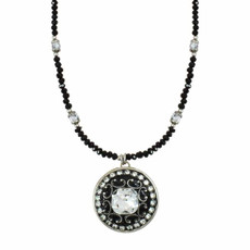 Michal Golan Medium Round Pendant Necklace