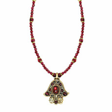 Antique Gold Hamsa By Michal Golan