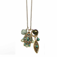 Hamsa w/ Dangle By Michal Golan
