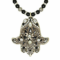 Hamsa necklace from Michal Golan Jewelry