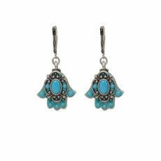 Hamsa earrings from Michal Golan Jewelry