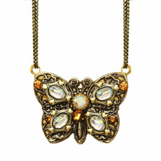 Butterfly Necklace by Golan Michal