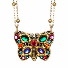 Michal Golan Butterfly Necklace N3254-2