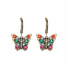 Michal Golan Butterfly Earrings Multicolor