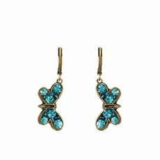 Blue Michal Golan Jewelry Butterfly Earrings