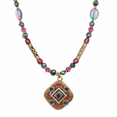 Michal Golan Horizon Pink Necklace