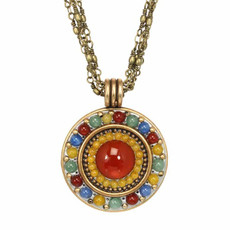 Michal Golan Red Terra Necklace