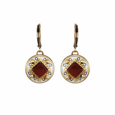 Michal Golan Red Terra Earring