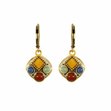Michal Golan Earring Terra Red