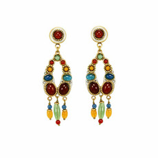 Michal Golan Red Terra Earrings