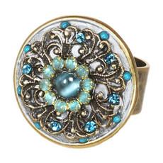 Atlantis adjustable ring from Michal Golan Jewelry