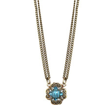 Blue Michal Golan Atlantis Necklace