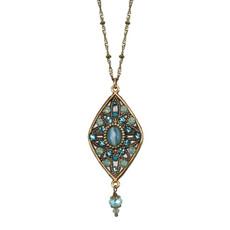 Michal Golan Atlantis Necklace Blue