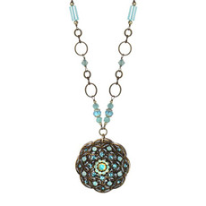 Michal Golan Blue Atlantis Style Necklace