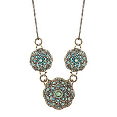 Blue Golan Atlantis Necklace