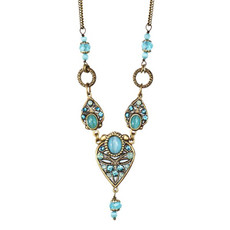 Blue Michal Golan Jewelry Atlantis Necklace
