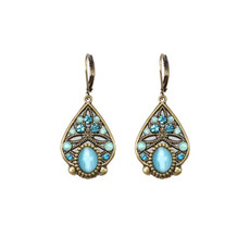 Blue Michal Golan Jewelry Atlantis Earrings
