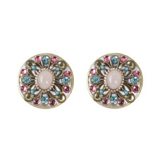 Michal Golan Jewelry Rose Earring Pink