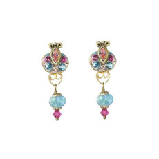 Michal Golan Earrings Rose