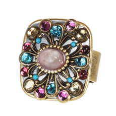Michal Golan Jewelry Rose Adjustable Ring