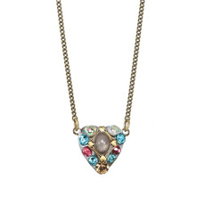 Michal Golan Necklace Rose Pink