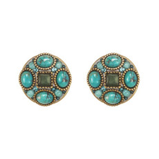 Michal Golan Earring Nile - Turquoise