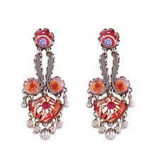 Ayala Bar Jewellery Rite of Spring Red Earrings
