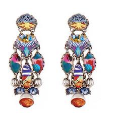 Turkish Tile earrings from Ayala Bar Jewelry