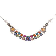 Ayala Bar Jewellery Turkish Tile Purple Necklace