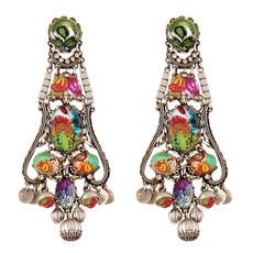 Red Ayala Bar Jewelry Printemps  Earrings