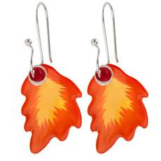 Orna Lalo Autumn Leaf Earrings - One Left