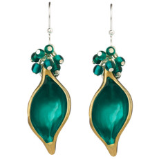 Orna Lalo Teal Earrings