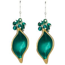 Orna Lalo Teal Earrings