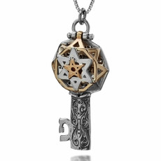 Tikun Hava Key Kabbalah Pendant